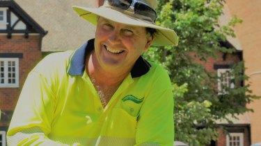 Skin cancer survivor Michael Hannan.