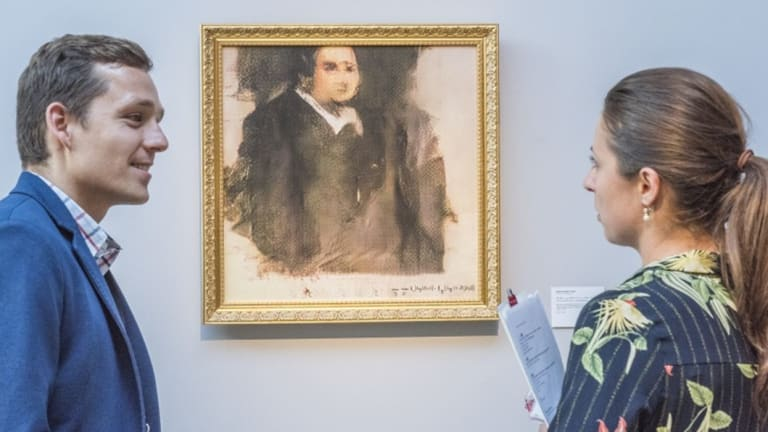 Christie's sold an AI-created art work called <em>Portrait of Edmond Belamy</em> for $612,000.
