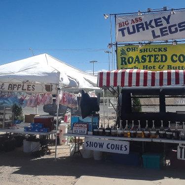 Big Ass Turkey Legs at the Sierra County Fair.