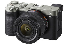 Sony Alpha A7C compact full-frame camera