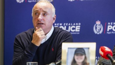 David Millane travelled to New Zealand to help with the search efforts for his daughter.