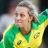 Australia star Ash Gardner has fallen foul of match officials.