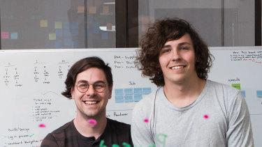 Matrak co-founders Brett and Shane Hodgkins