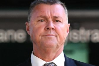 """Former CFMEU Queensland president Dave Hanna was hit with the maximum penalty for his """"abhorrent"""" behaviour."""