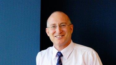 Cromwell's retiring chairman Geoff Levy.