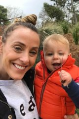 Natalie Hart, pictured with son Jenson, was 40 when she met someone she wanted to have children with.