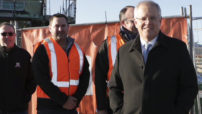 Scott Morrison is betting on a shovel-led recovery but the jobs bonanza is elsewhere