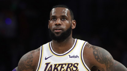LeBron to sit out rest of the NBA season