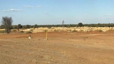 Adani's Carmichael Mine borehole number 30 in September 2018