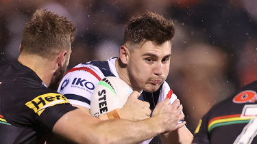 Roosters forward Fletcher Baker has been placed into COVID isolation.