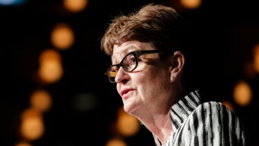 Commonwealth Bank chairwoman Catherine Livingstone wants to placate investors.