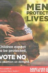 A poster advertisement for the No vote.