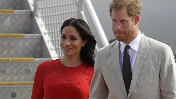 Duchess of Sussex makes fashion faux pas in Tonga