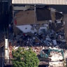 Workers evacuated before part of building collapses in Crows Nest