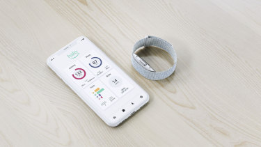 Amazon's Halo has no screen, but can analyse your weight and voice.