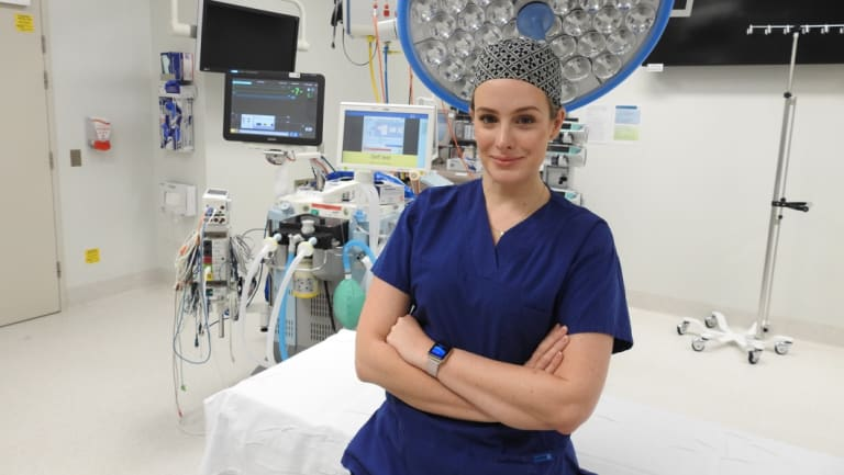 Dr Nikki Stamp, cardiothoracic surgeon.