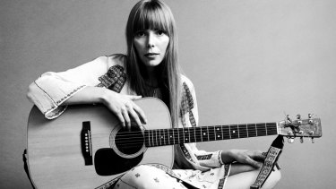 """""""Joni Mitchell influenced my musical tastes greatly. She is a poet, seer and a pure of heart artist for what is now many generations."""""""