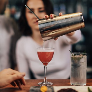 Melbourne's Brunswick Aces bar has 100 non-alcoholic beers, wines and cocktails on its menu.