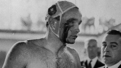 'Blood in the Water': War in the 1956 Olympic pool