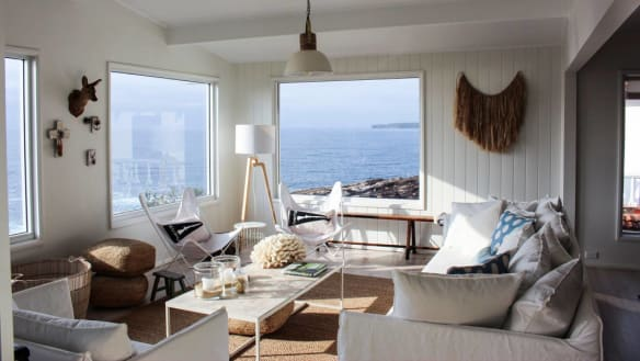 The Cliff House at Mollymook offers uninterrupted views from its waterfront locationatBannisters Head.