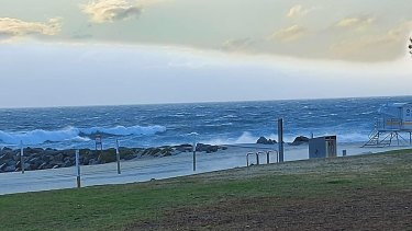 The storm will hit hardest near the coast.