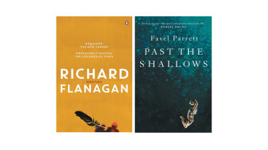 Richard Flanagan's Wanting and Favel Parrett's Past the Shallows.