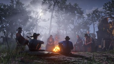 Living with the gang is a big part of Red Dead Redemption 2.