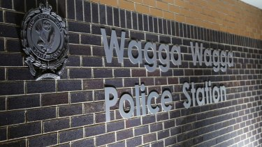 The girl, 16, was searched at Wagga Wagga police station.
