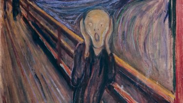 Edvard Munch's The Scream, owned by Norway's National Museum of Art, Architecture and Design.