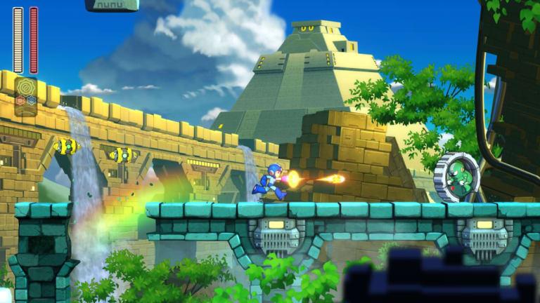 I still prefer the blocky, old-school aesthetic, but Mega Man 11's new cartoony look is still great.