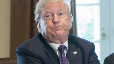 US President Donald Trump has defied attempts to restrain him.