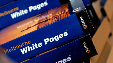 The details were published in the White Pages directories.