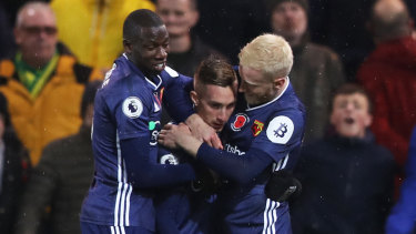 Victory was sweet relief at last for Watford.