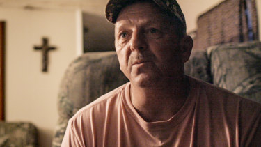 Chad Richard in Murder in the Bayou episode 'A Body In a Canal'.