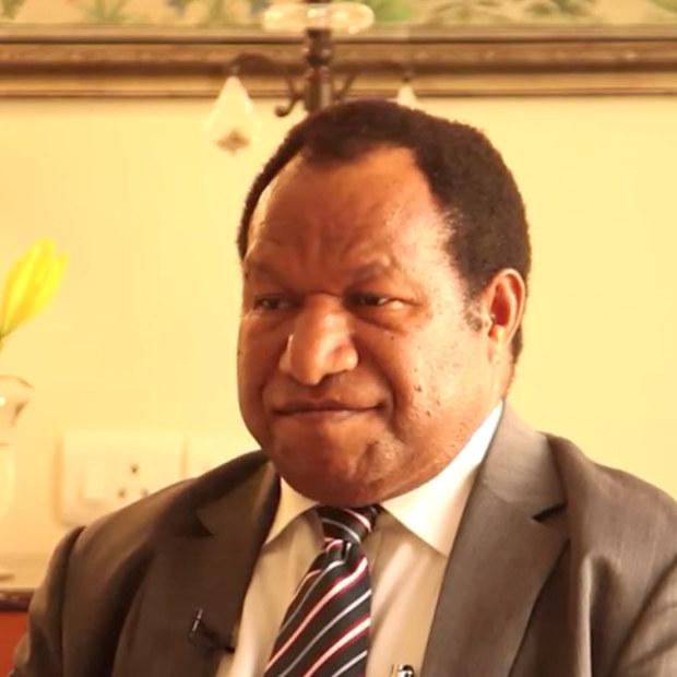 William Duma, PNGpetroleum minister.