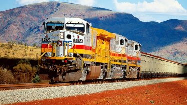 Rio Tinto's rail fleet is autonomous.
