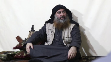 A video released in  April purported to show the leader of the Islamic State group, Abu Bakr al-Baghdadi.