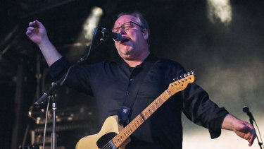 The Pixies, in their sixties, enthuse the crowd at Golden Plains 2020.