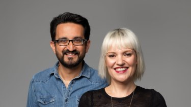 ABC breakfast hosts Sami Shah and Jacinta Parsons have been accepted...but not before time.