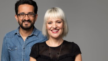 Another good result for ABC breakfast hosts Sami Shah and Jacinta Parsons.