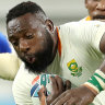 Boks thrash Namibia but it's a far from perfect performance