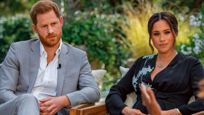 When Harry and Meghan met Oprah – and what the battle royal means