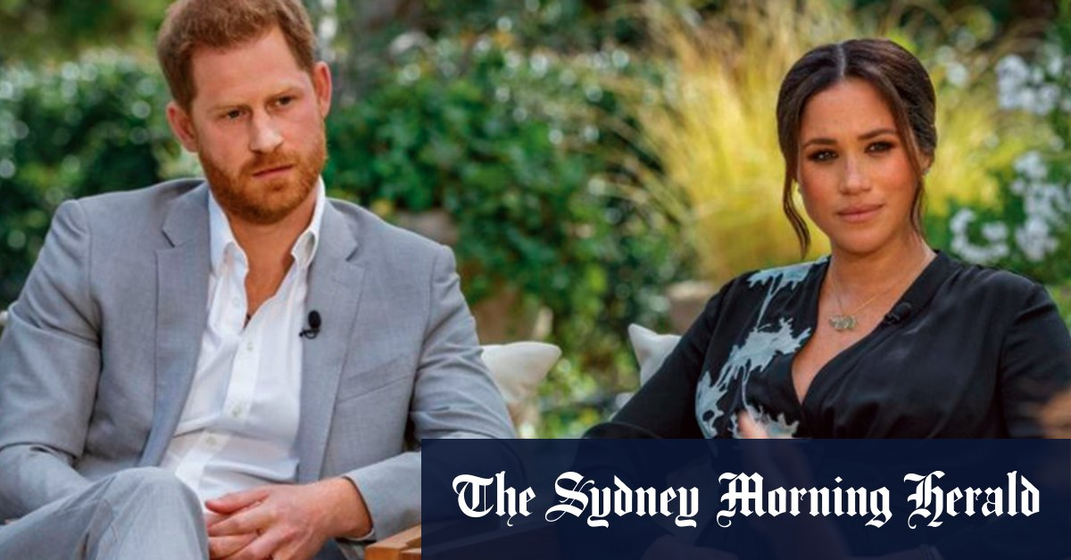When Harry and Meghan met Oprah – and what the battle royal means – Sydney Morning Herald