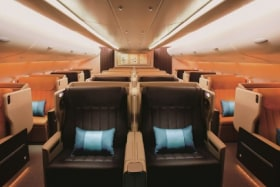 Flight test: One of the widest business class seats you can get