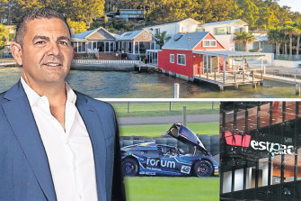 Bill Papas and his amazing alleged fraud has included racing cars, luxury homes and overseas assets.