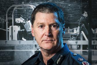 Chief Commissioner Shane Patton.