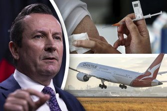 WA Premier Mark McGowan has urged West Australians in Victoria to get a jab and come home.