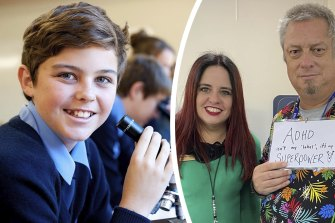 Bunbury Baptist College primary principal Tiffany Staples and deputy principal Andrew Horn came up with the idea of Learning Difference Day to help get rid of the stigma around conditions like ADHD.