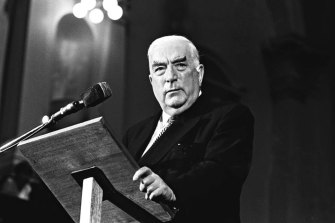 Robert Menzies identified home ownership – the home material – as the bedrock for one's own contribution to family and society.