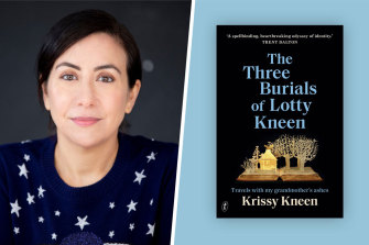 Sarah Krasnostein says The Three Burials of Lotty Kneen 'explores the elusive line between memoir and myth'.